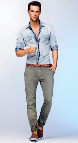 Для мужчин: стиль smart-casual в офисном дресс-коде.