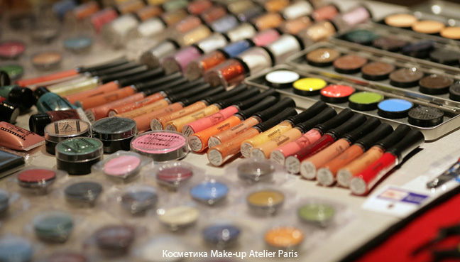 Косметика Make-up Atelier Paris